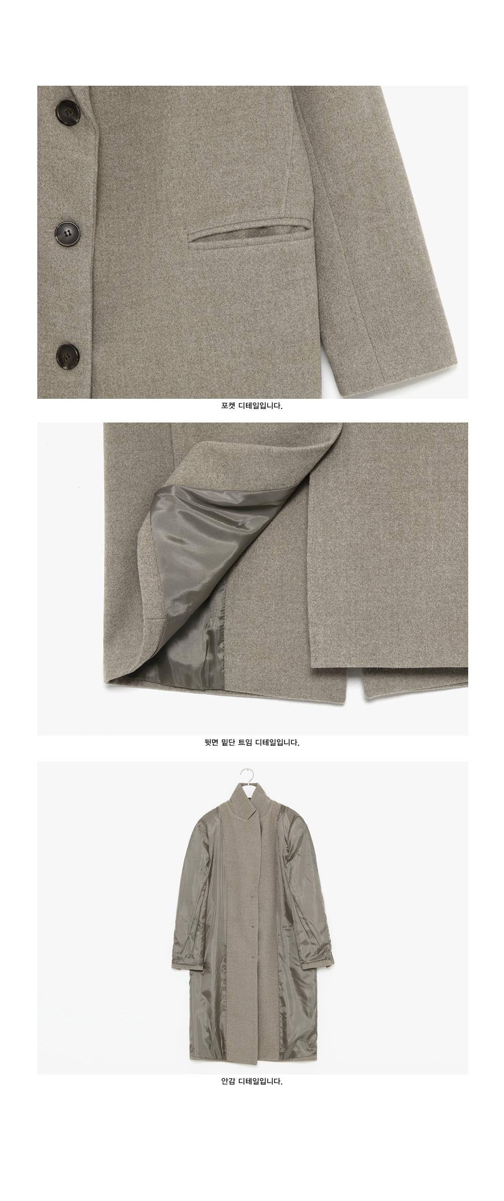 like classic wool single coat