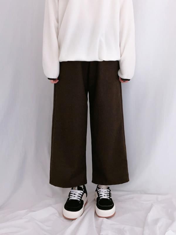 Coney Wide Wool Slacks