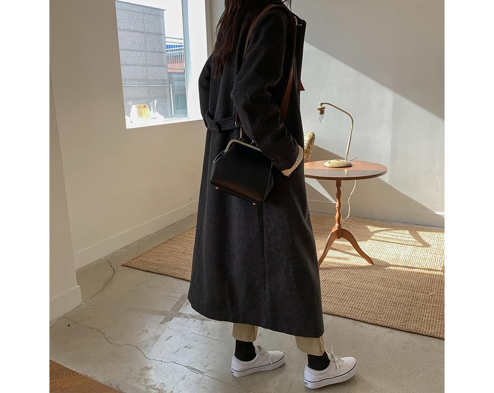 Check Pattern Single Coat