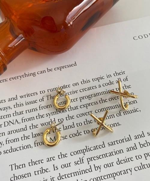 sprin earring set