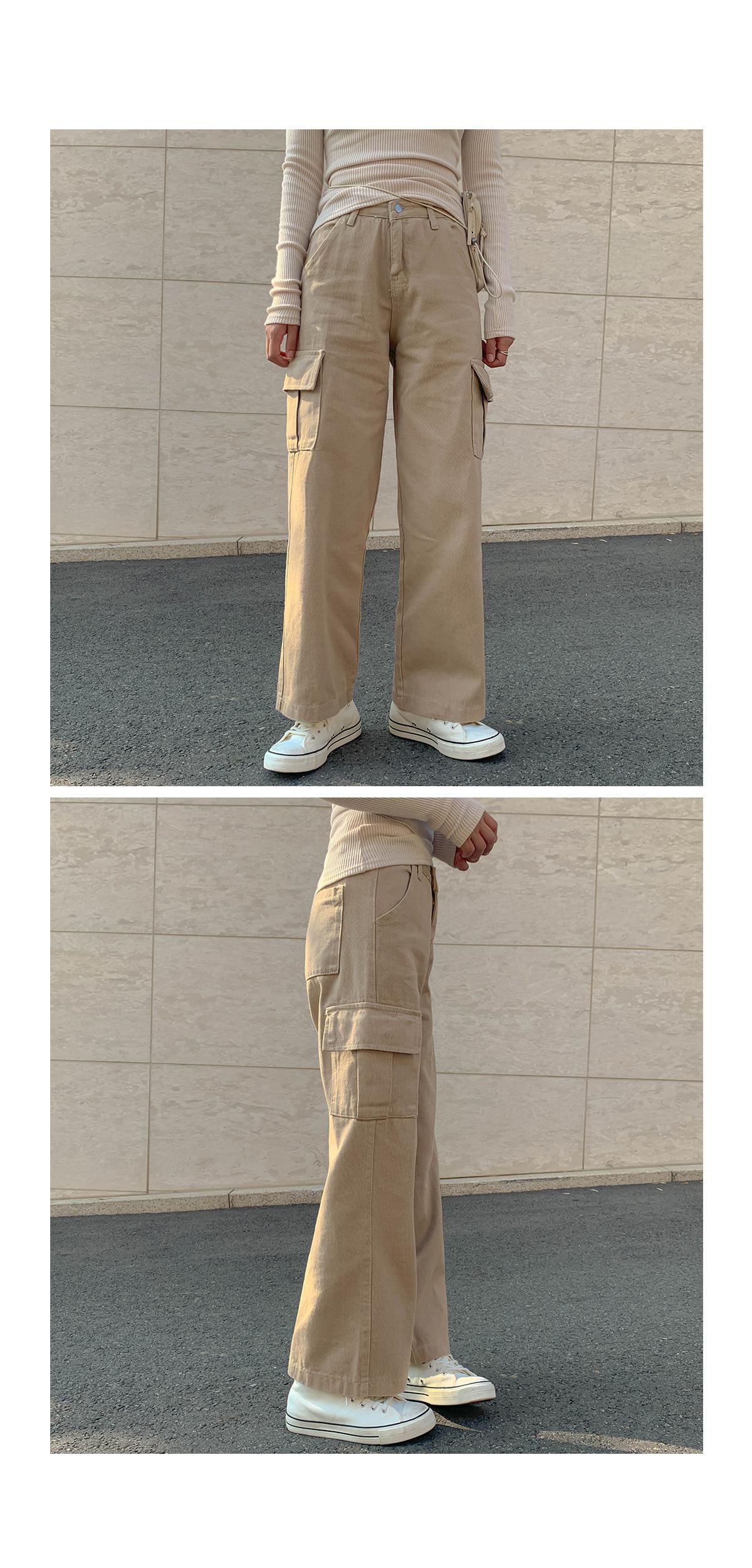 Semi-Wide River Cargo Pants
