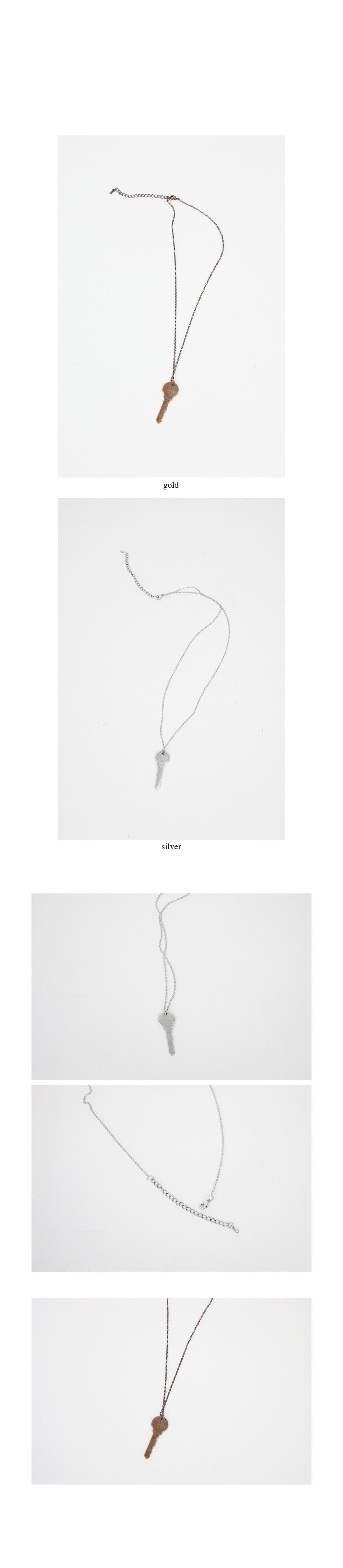 antique key objet necklace