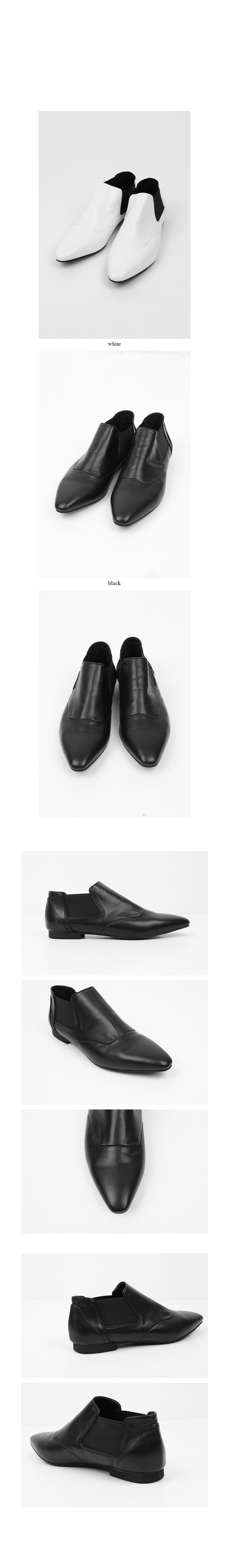 missy mood leather loafer