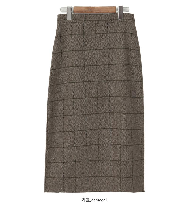Ketley wool wrap skrit_C (size : free)