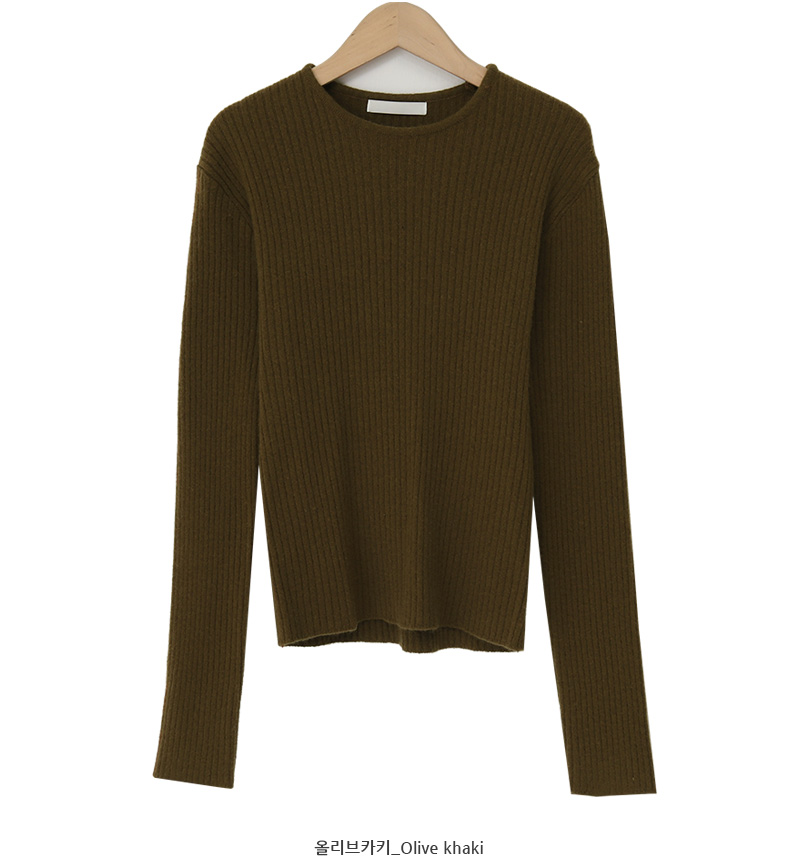 Teary cashmere slim knit_C (size : free)