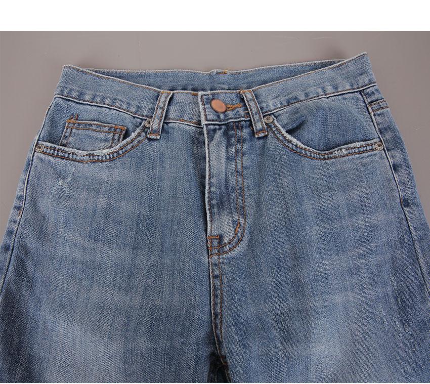 Highhigh-date cut pants