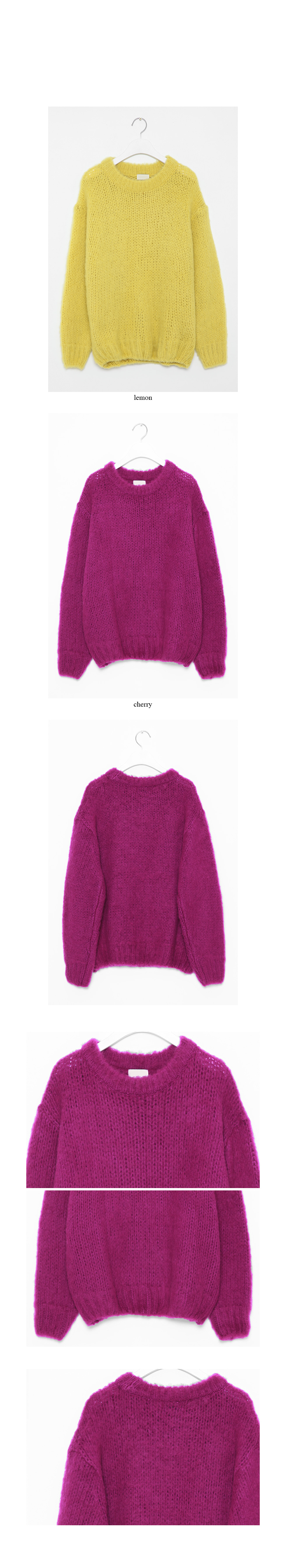oversized colorful sweater