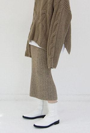 Golgi knit skirt