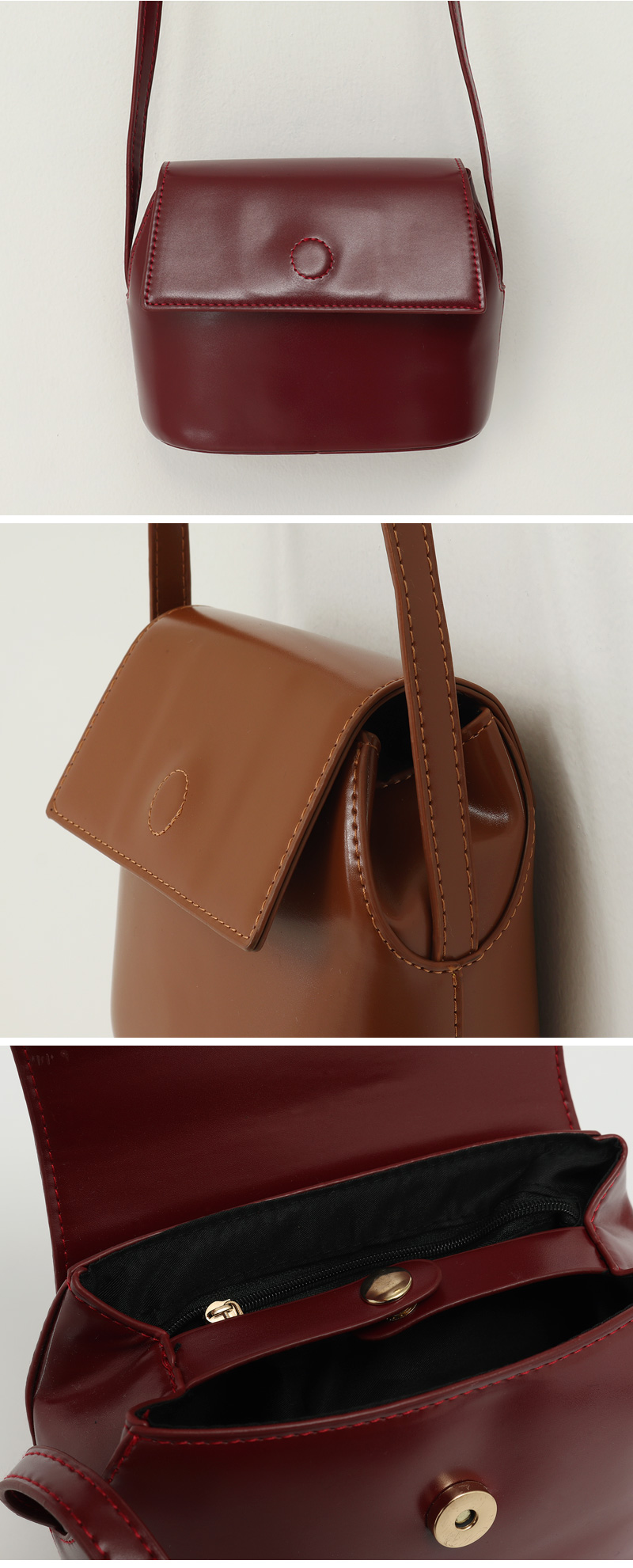 Cram simple cross bag_C