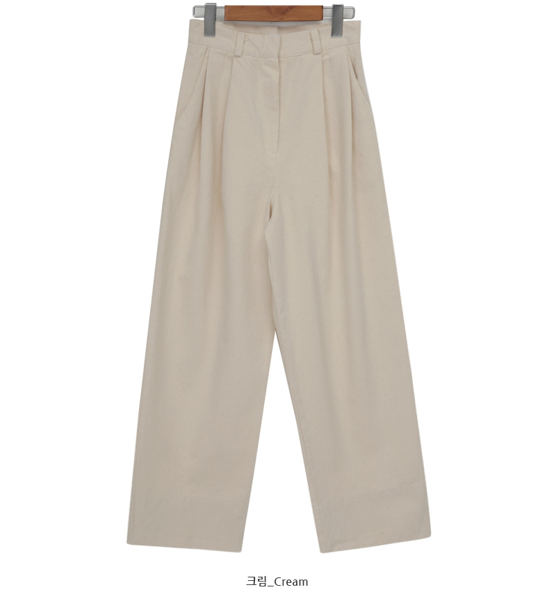 Clave pintuck wide pants_A