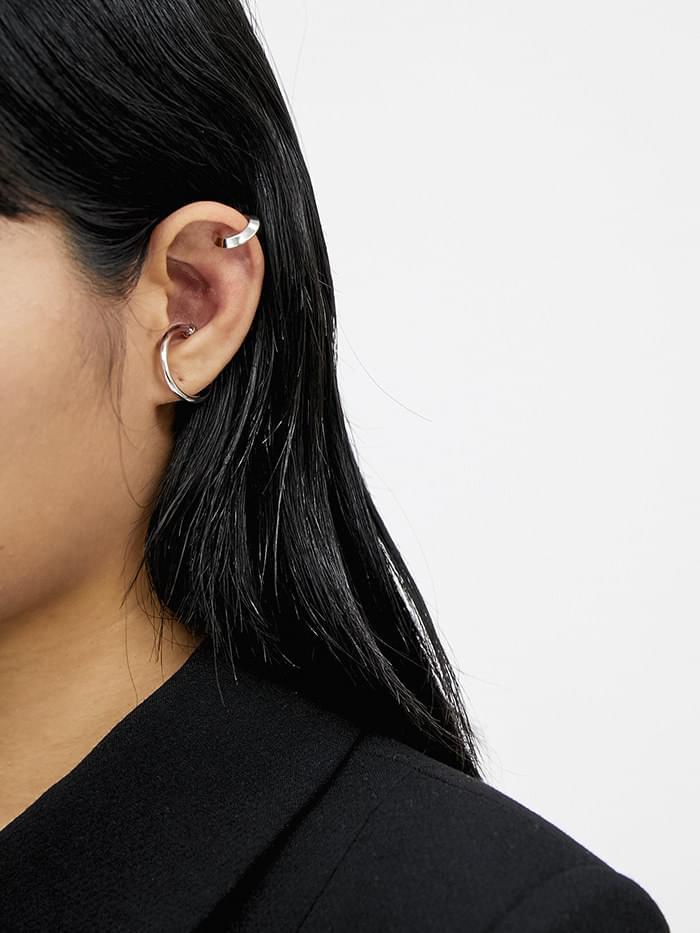 gloss simple ear cuff (2 color)
