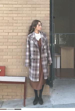 Everybody's favorite check coat