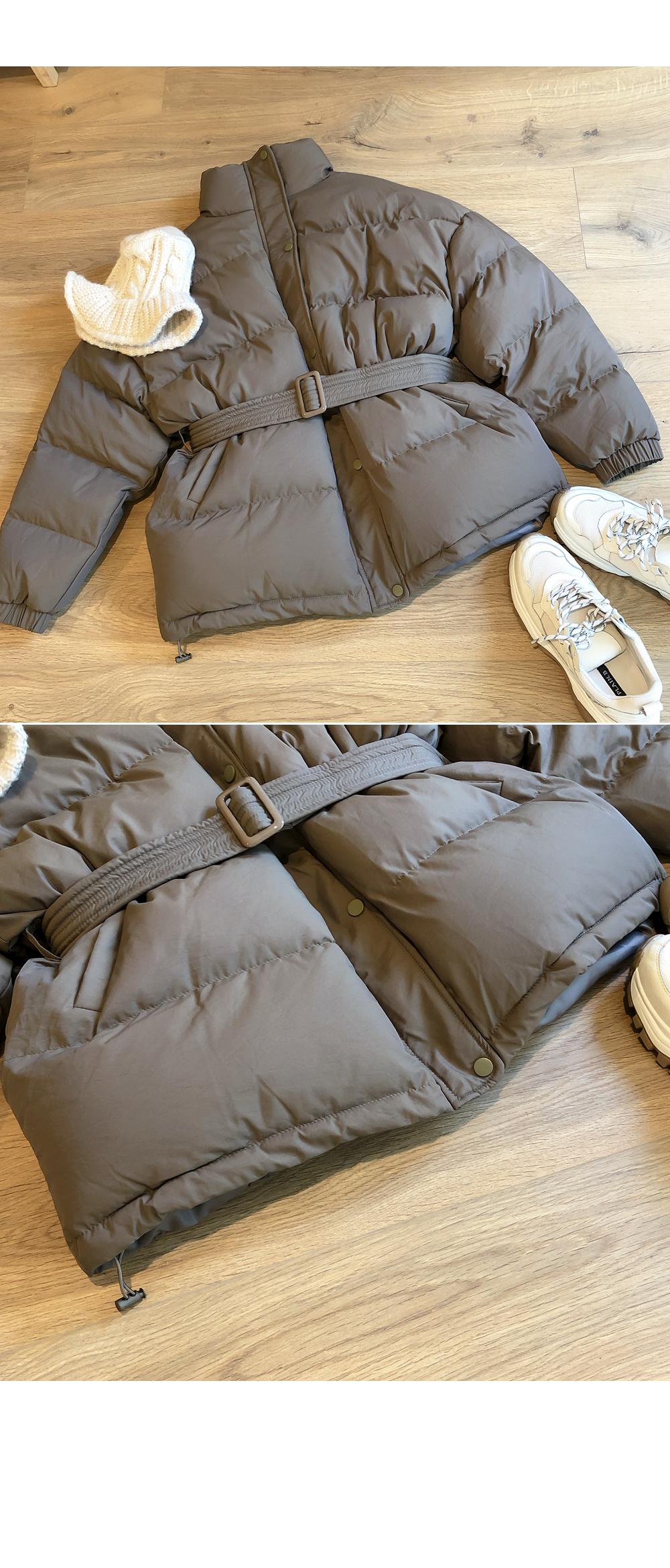 Full simple padding with belt SET