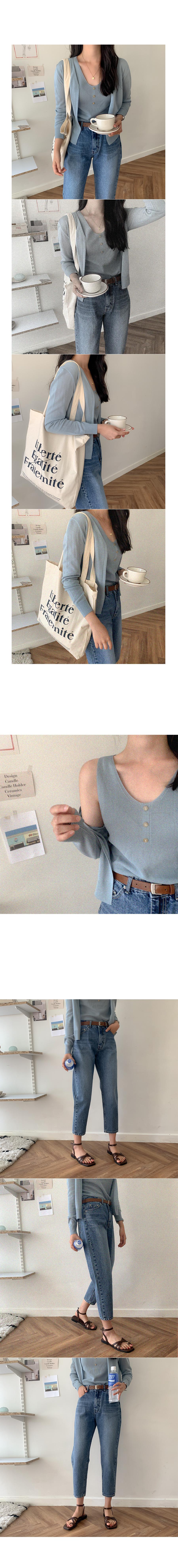 RUEL open knit cardigan