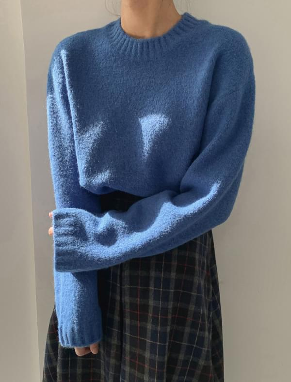 Daily Simple Wool Knit-knit