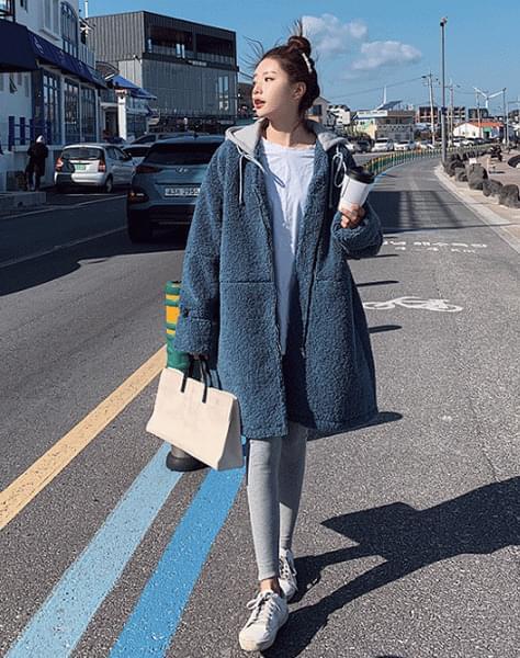 Deepwater Fleece Hooded Coat