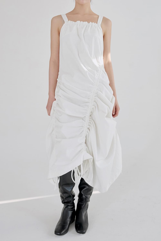sensual drape dress (ivory)