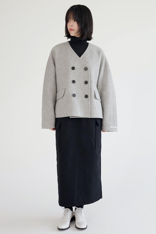 mild handmade short coat (3colors)