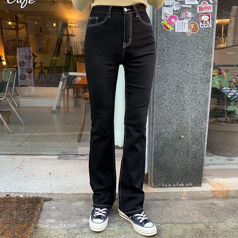 Selenium stitch pants