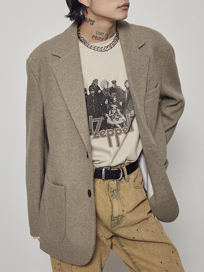 warm single jacket (2 color) - men
