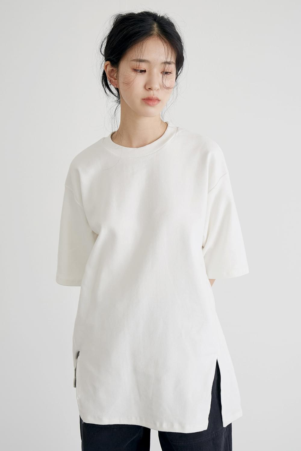 napping soft loose tee (4colors)