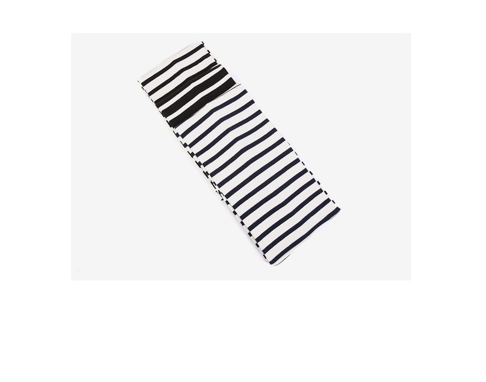 saint striped cute muffler