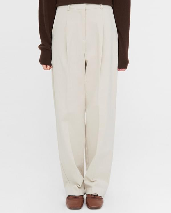chino cotton straight pants (s, m) (인기상품 배송지연)