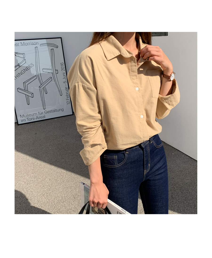 Daylin brushed basic shirt