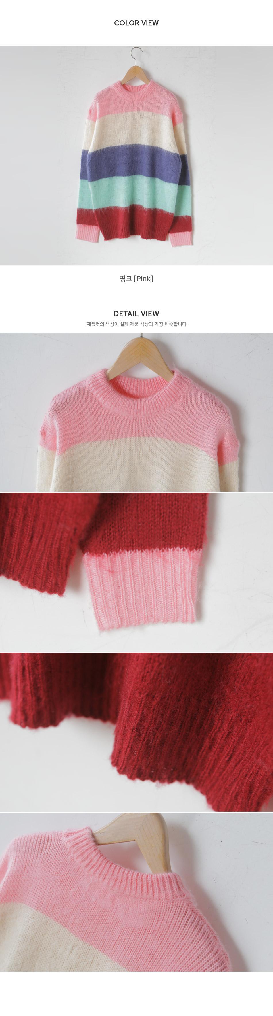 Label ragara pog knit