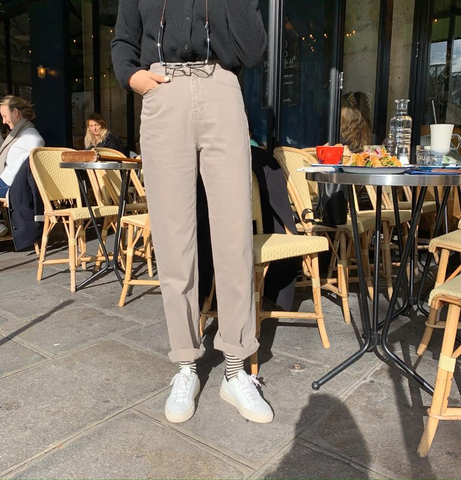 Bare cotton pants