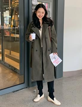 Pauline wool double coat_H (size : free)