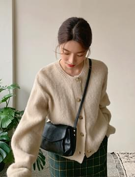 Merge wool round cardigan_J (size : free)