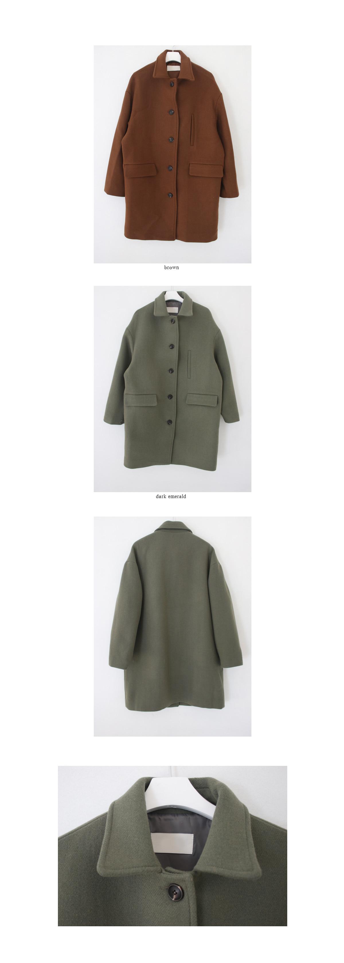 straight half coat