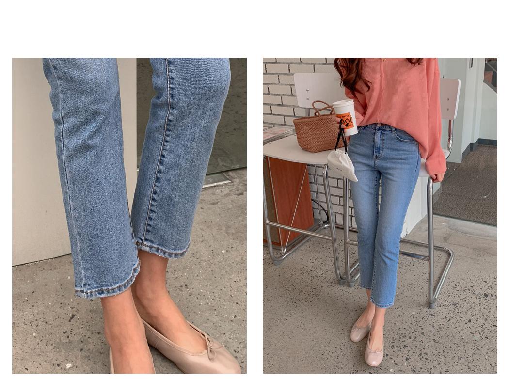 Medium-length cropped pants