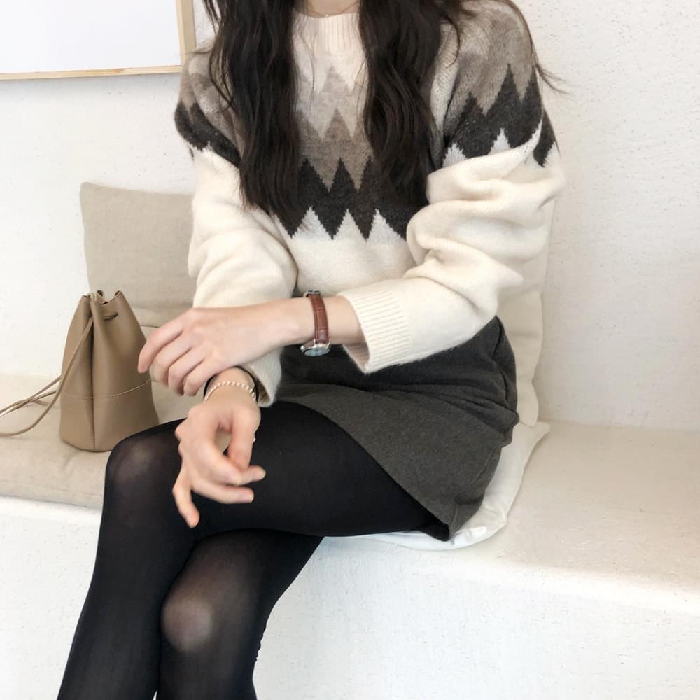 Classic Pattern Knit