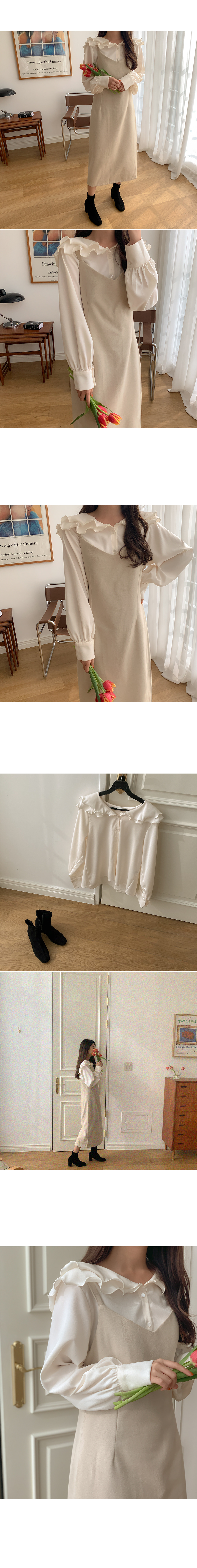 Once ruffle blouse