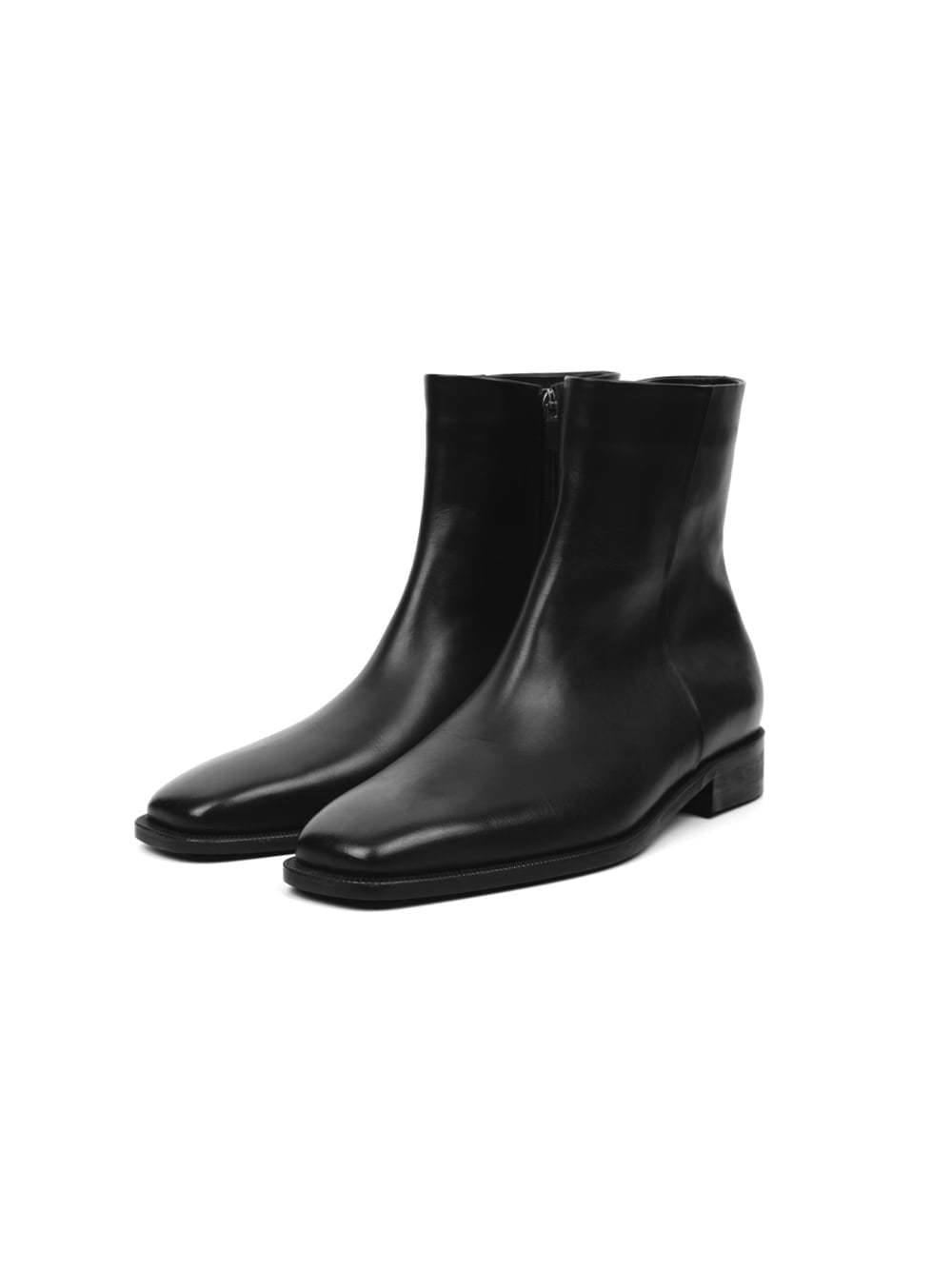 cow hide ankle boots - men