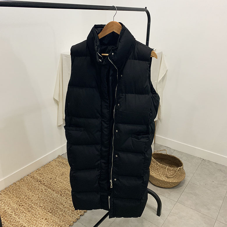 Meriel Long Padded Vest