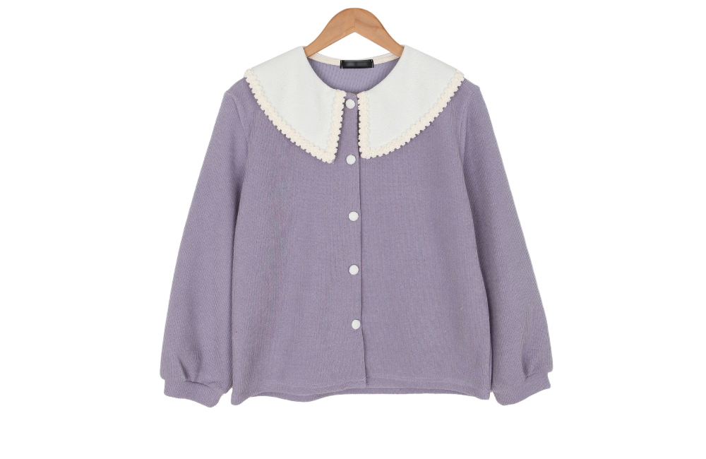 ☆ NOMAJIN special price ☆ Lace Winkle Cardigan