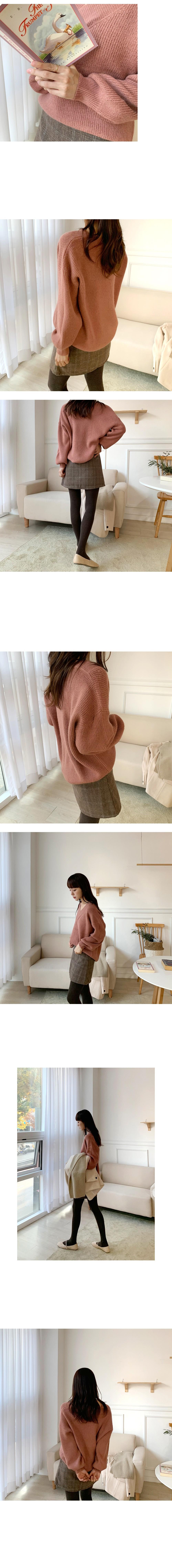 My V Angora Knit