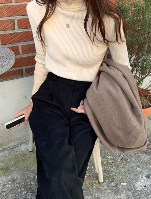 Wool polar knit