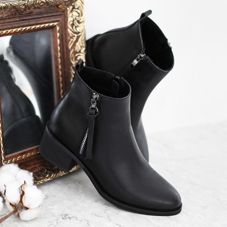 Praise Leather Ankle Boots 5cm