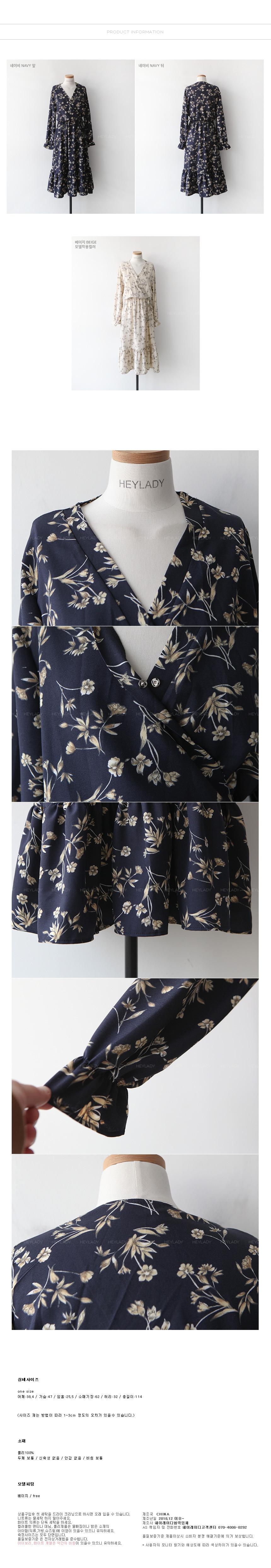 Mangosteen ruffle dress