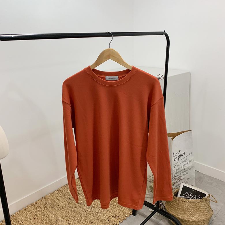 Sweety macaroons plain man-to-man t-shirt