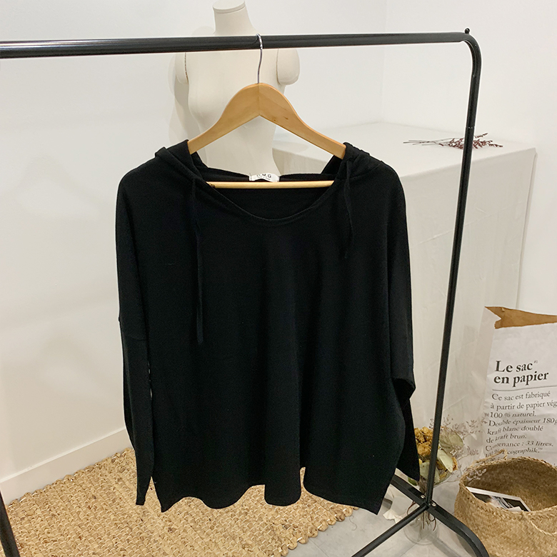 Elika Candy Hooded Long Sleeve T-Shirt