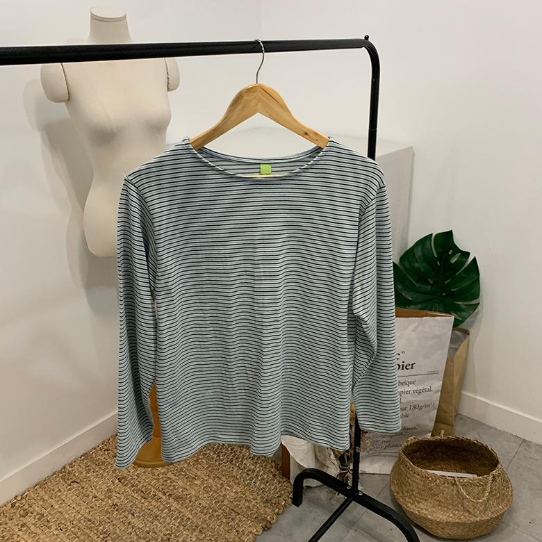 Sandan striped round T-shirt