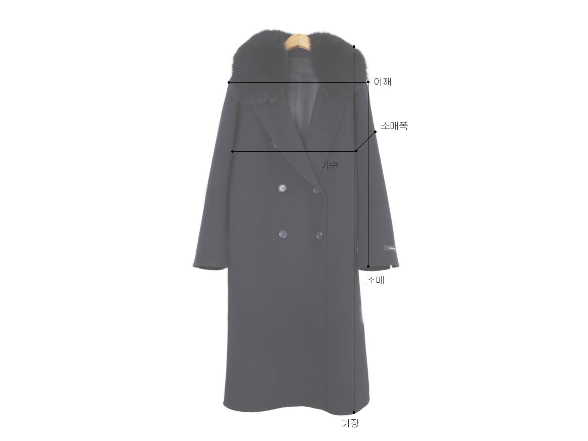 Saga fox handmade coat