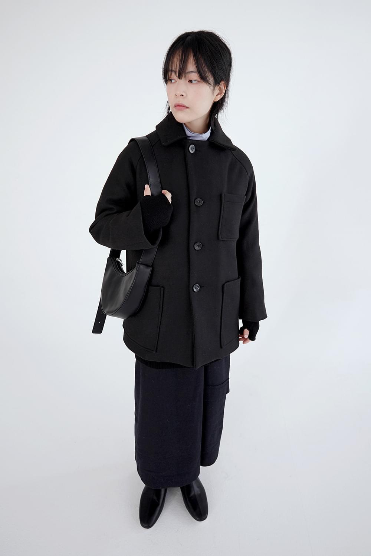 3 pocket midi jacket (2colors)
