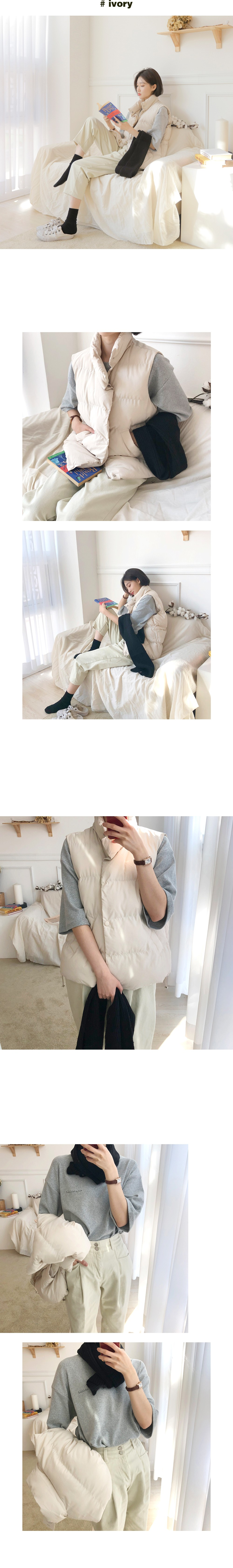String padding vest