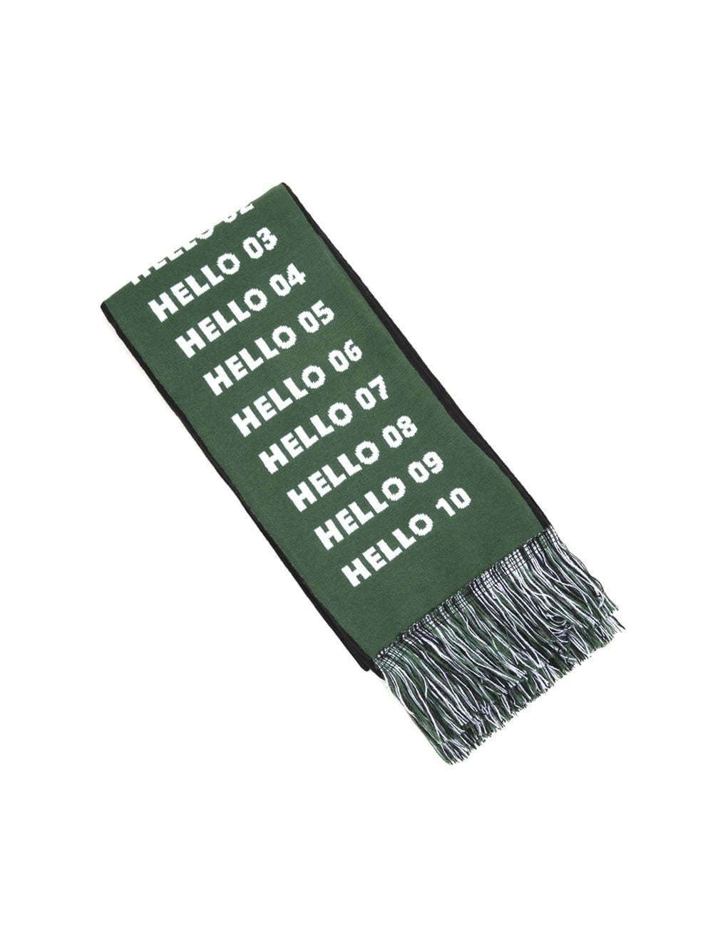 HELLO knit muffler